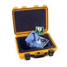 AED-Lifeline Hartschalen Koffer (gelb)
