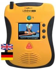 DEFIBTECH Lifeline VIEW AED zweisprachig